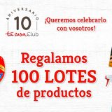 Tu Casa Club regala 100 lotes de productos