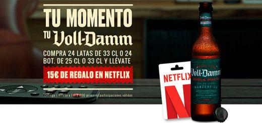 15€ de regalo en Netflix con Voll-Damm