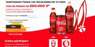 Coca Cola sortea todas las vacaciones de tu vida