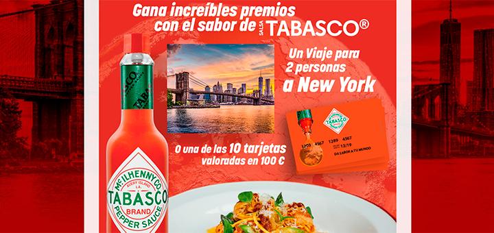 Gana increíbles premios con Salsa Tabasco