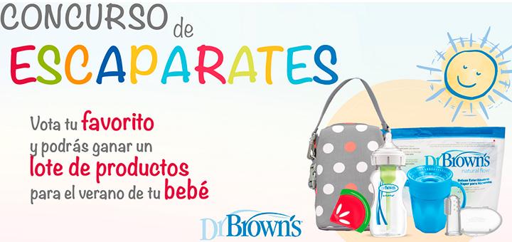 Gana un lote de productos Dr.Brown's para el verano de tu bebé