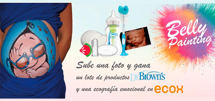Gana una ecografía emocional en Ecox y un lote de productos Dr. Brown's