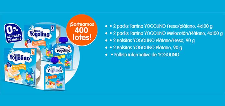 Prueba gratis Yogolino 0% azúcares añadidos con Nestlé Bebé
