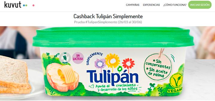 Reembolso: Prueba gratis Tulipán Simplemente