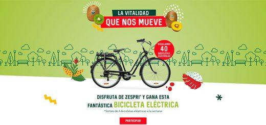 Zespri regala 40 bicicletas eléctricas