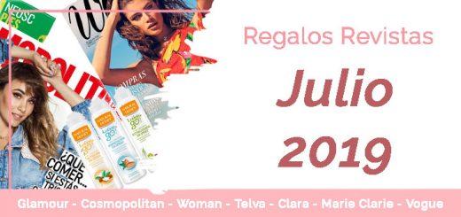 Regalos Revistas Julio 2019