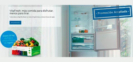 Fruta y verdura gratis con frigorífico VitaFresh de Bosch
