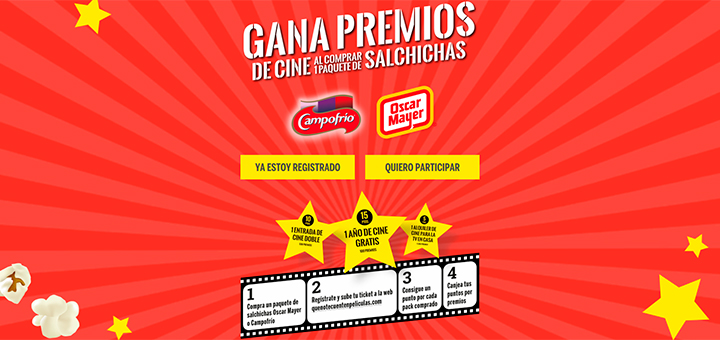 Gana premios de cine con Campofrío y Oscar Mayer