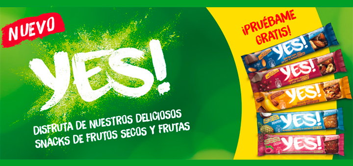 Prueba gratis Yes! De Nestlé