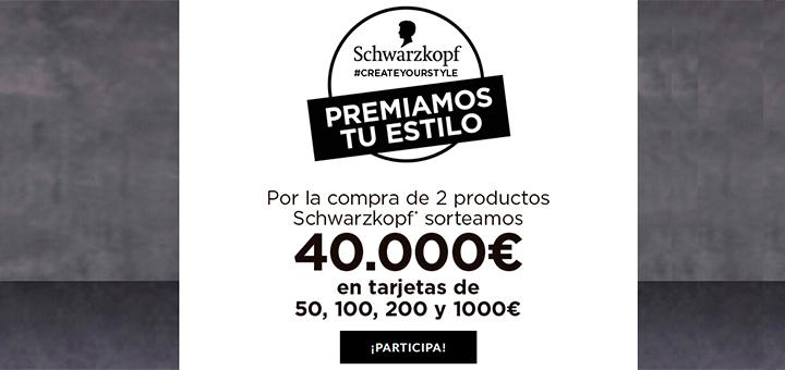 Schwarzkopf sortea 40.000 euros