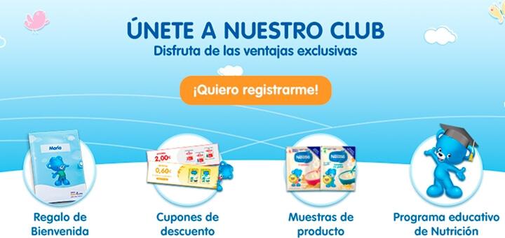 Consigue gratis un portadocumentos con Club Nestlé Bebé