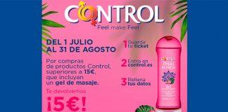 Control te devuelve 5 euros