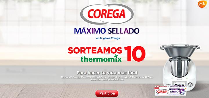 Corega sortea 10 Thermomix