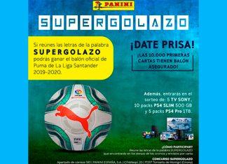 Gana el balón oficial de Puma de La Liga Santander con Panini Cromos