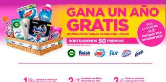 Gana un año gratis de productos de grandes marcas para el hogar