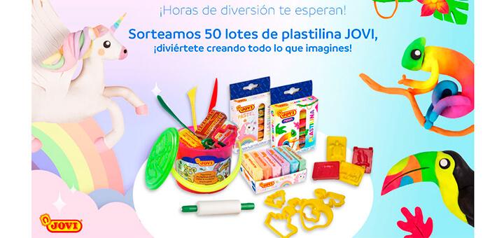 Mayoral sortea 50 lotes de plastilina Jovi