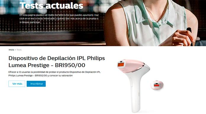 Philips da a probar gratis nuevos productos