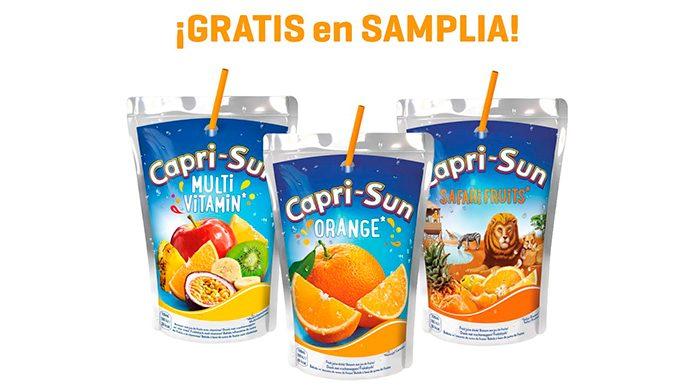 Prueba gratis Capri-Sun con Samplia