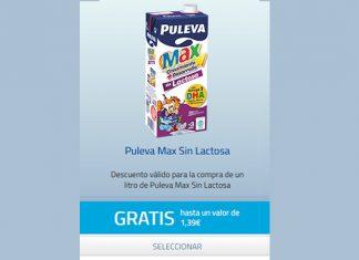 Prueba gratis Puleva Max Sin Lactosa