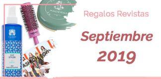 Regalos revistas Septiembre 2019