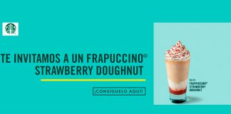 Starbucks te invita a un Frappuccino Strawberry Doughnut
