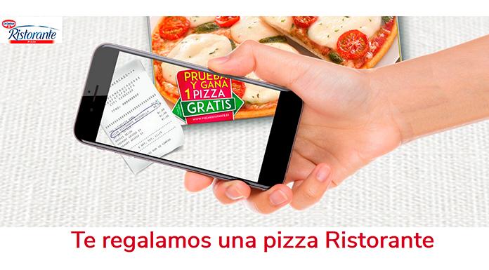 Te regalan una pizza Ristorante