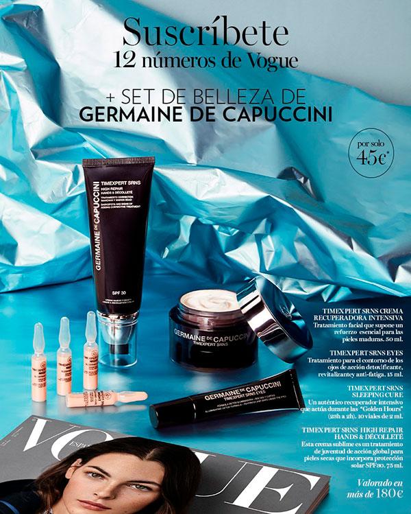 Regalos suscripción revista Vogue Septiembre 2019