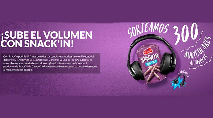Campofrío sortea 300 auriculares altavoces
