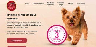 Consigue hasta 6 euros de reembolso con Purina One Mini