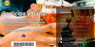 Lidl sortea un año de cerveza gratis