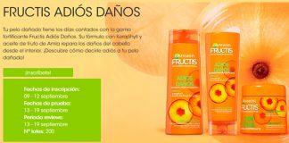 Prueba gratis Fructis Adiós Daños