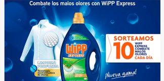 Sortean 10 WiPP Express Combate malos olores cada día