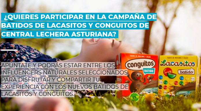Central Lechera Asturiana busca influencers naturales de Batidos de Lacasitos y conguitos