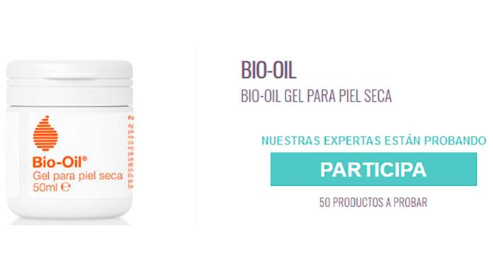 Prueba gratis Bio-Oil gel con Enfemenino