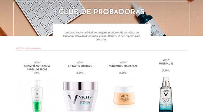 Prueba gratis los mejores productos de cosmética de farmacia