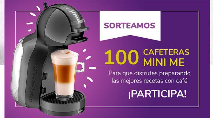 Sortean 100 cafeteras Mini Me