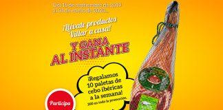 Villar regala 10 paletas de cebo ibéricas cada semana
