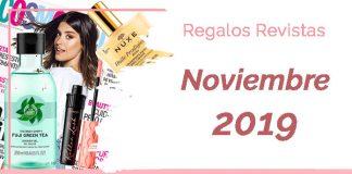 Regalos Revistas Noviembre 2019