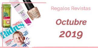 Regalos revistas octubre 2019