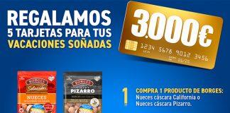 Borges regala 5 tarjetas para tus vacaciones soñadas