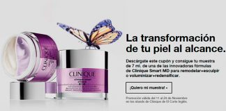 Muestras gratis de Clinique Smart MD