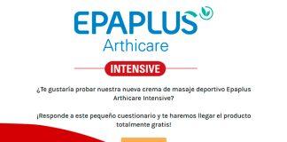 Prueba gratis la crema de masaje deportivo Epaplus Arthicare Intensive
