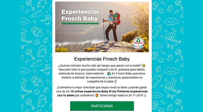 ´Regalan Experiencias Frosch Baby