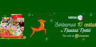 Sortean 10 cestas de Navidad Nestlé
