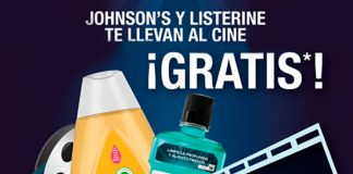 Listerine y Johnson & Johnson regalan entradas de cine