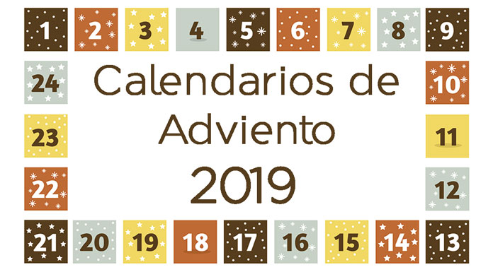 Calendarios de adviento 2019