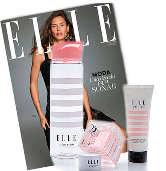 Regalos suscripción revista Elle enero 2020