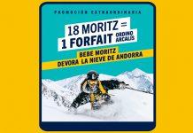 Consigue 1 forfait gracias a Moritz