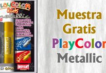 Muestra gratis de PlayColor Metallic
