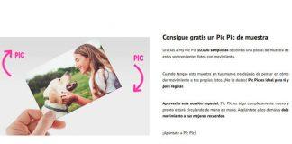 Muestras gratis de Pic Pic con Correos Sampling